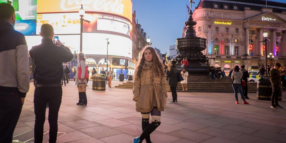 Picadilly Circus - London Nightlife!
