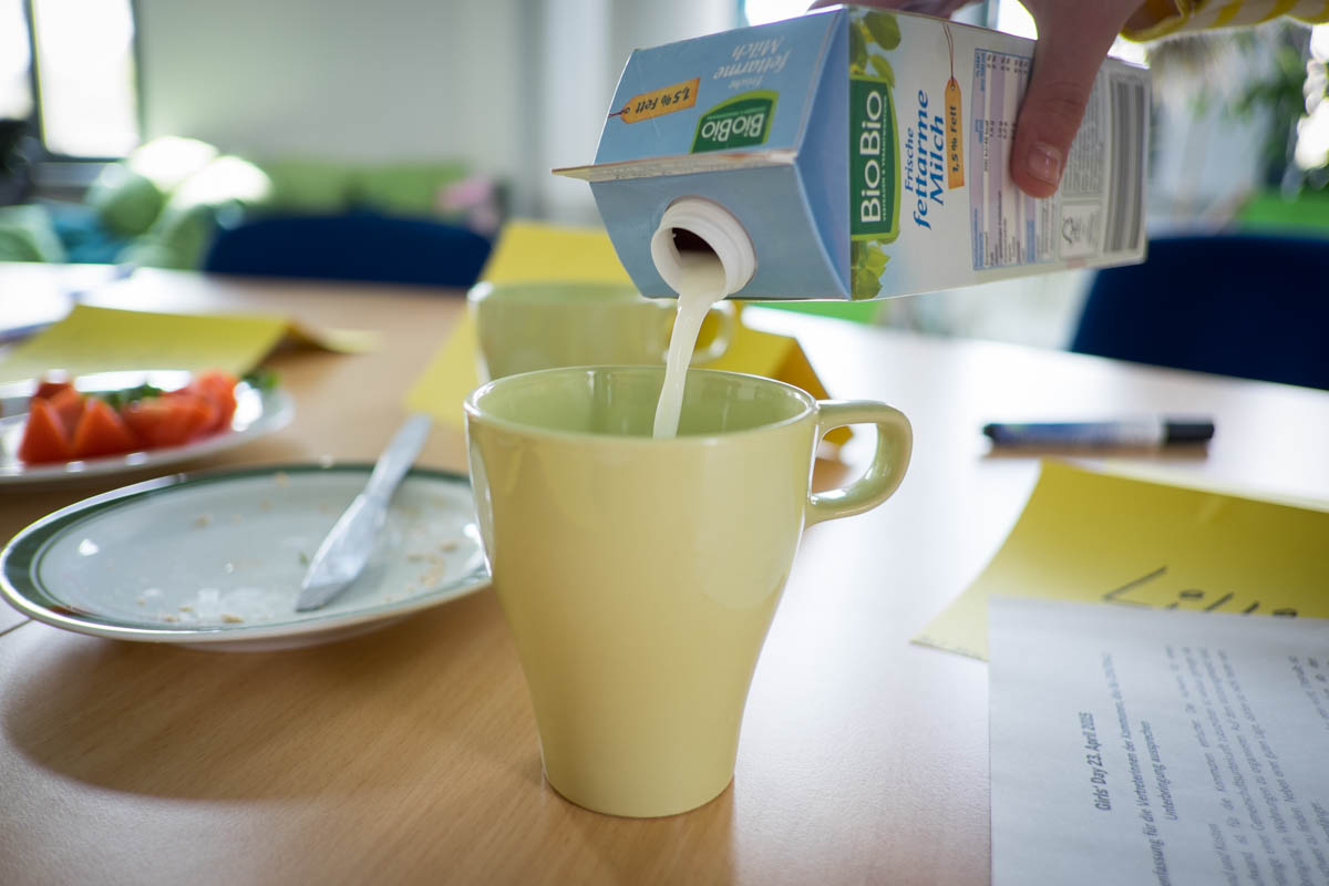 Dazu eine Tasse Milch, Bio natürlich!