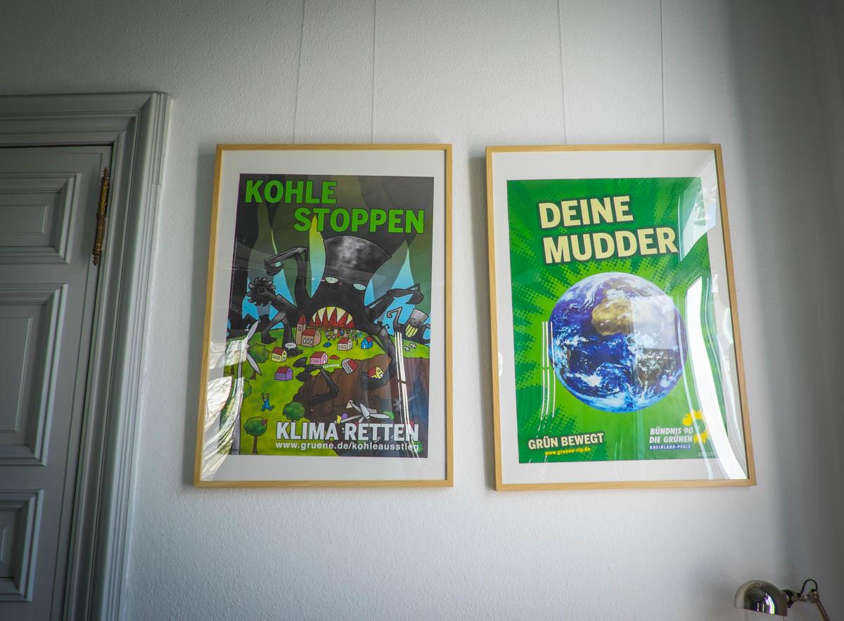 Plakate zum Schmunzeln und nachdenken