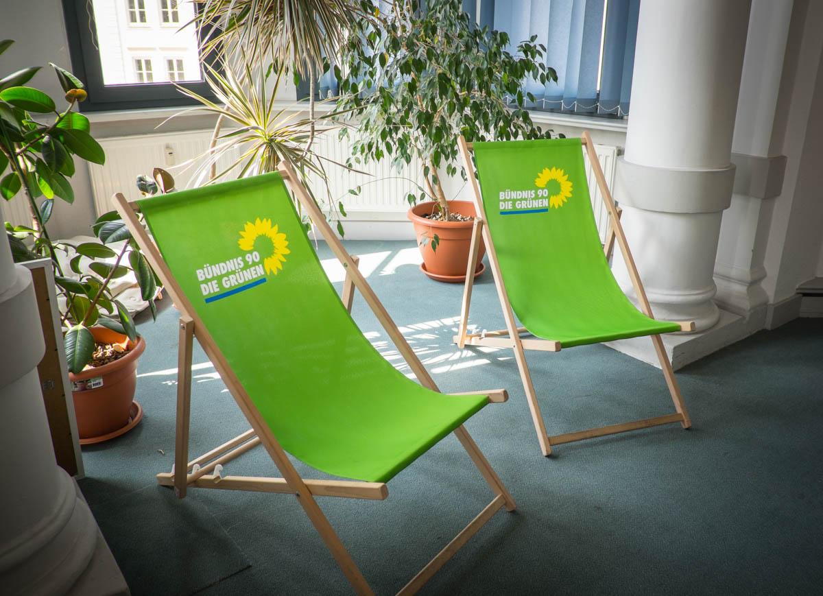 Damit die guten Gedanken nicht ausgehen: Entspannung in grün!