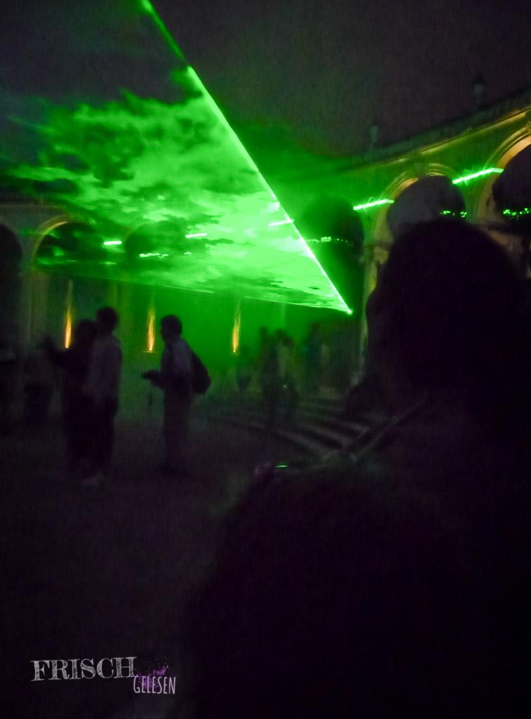 Diese Lasershow hätte auch dem Sonnenkönig Ludwig XIV. gefallen