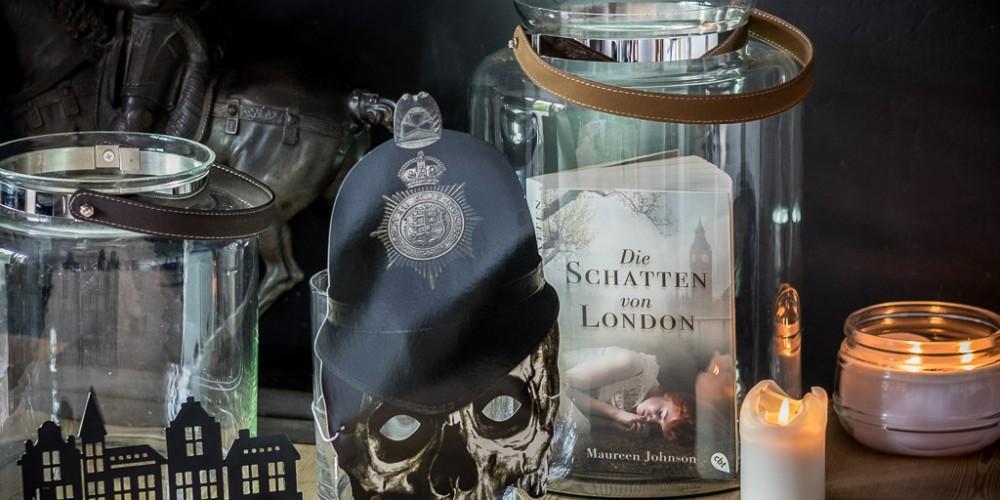 """Nur bei Kerzenschein würde ich """"Die Schatten von London"""" garantiert nicht lesen!"""