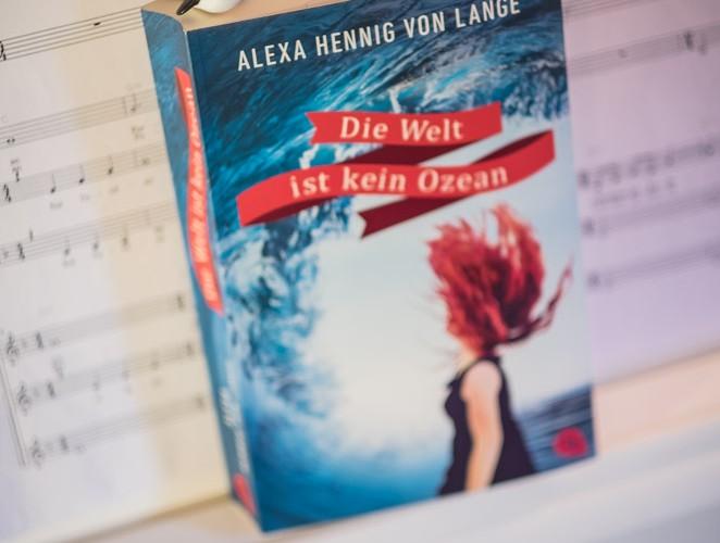"""Was sagt ihr zu dem tollen Cover? """"Die Welt ist kein Ozean"""" - Alexa Henning von Lange"""