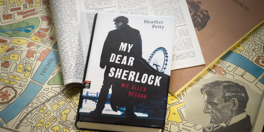 """Ein neues Stück in meiner Sherlock Holmes Sammlung: """"My Dear Sherlock"""" von Heather Petty"""