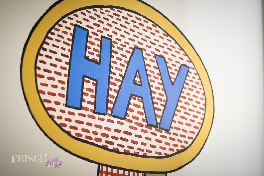 """""""Hay"""" ist in diesem Fall eine sehr coole Designfirma aus Kopenhagen. :)"""
