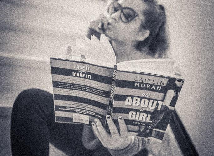 """Das wäre also mein neunziger Look: Caitlin Morans """"all About a Girl"""" hat mich dazu inspiriert."""