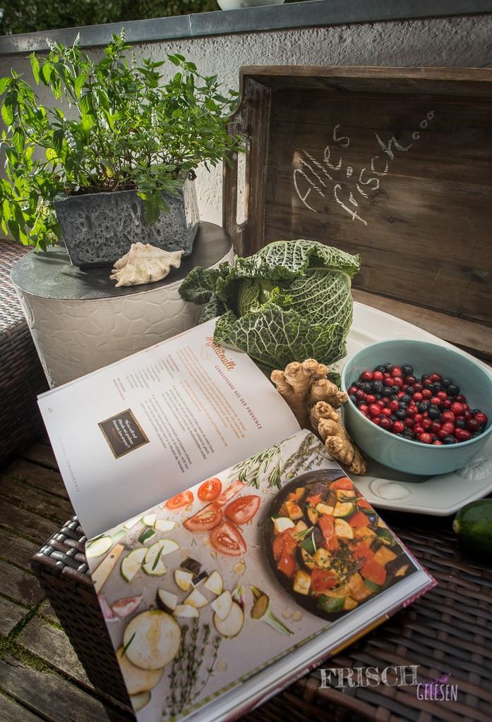 Gemüse und gutes Fleisch oder Fisch spielen in Aurélies Küche eine grosse Rolle