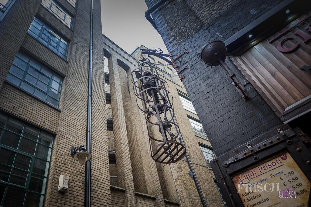 Ich möchte gar nicht wissen, was hier nachts los ist, wenn die Geister der Gefangenen durch diesen Londoner Stadtteil ziehen…. Muhhahha…!