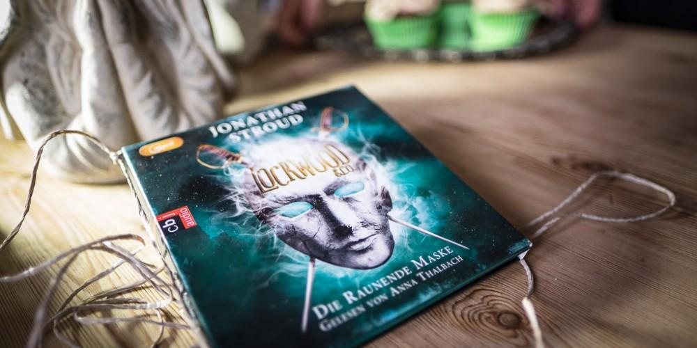 """Hörbuch von cbj audio: """"Lockwood & Co. - Die raunende Maske"""" von Jonathan Stroud"""