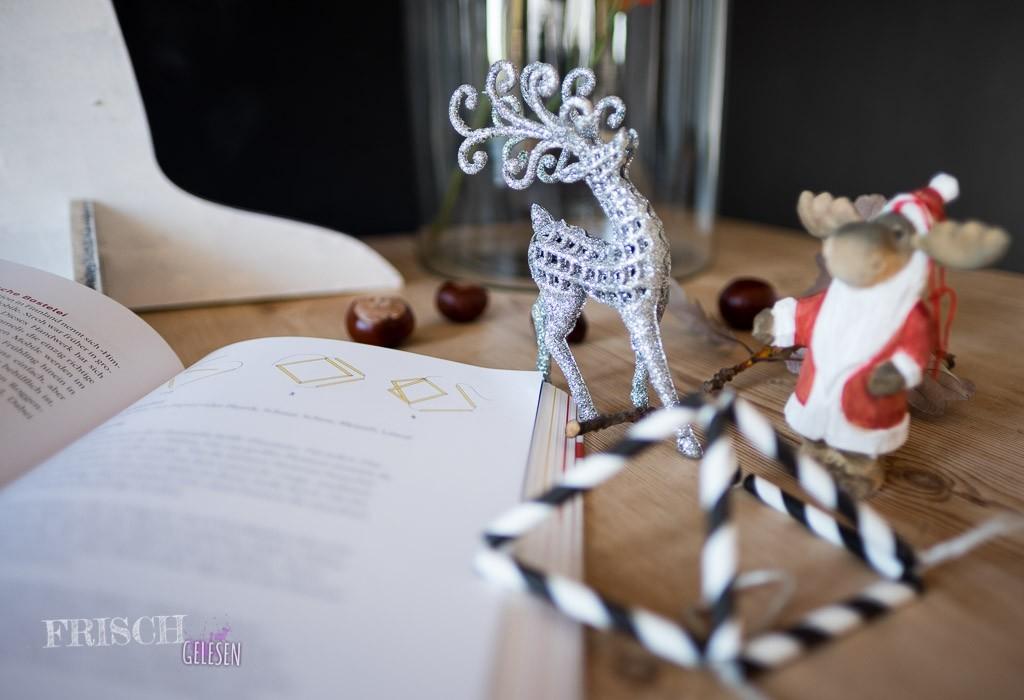 Dank des Buches werden wir in diesem Jahr auch traditionellen Weihnachtsschmuck aus Finnland basteln können - Ein Himmeli