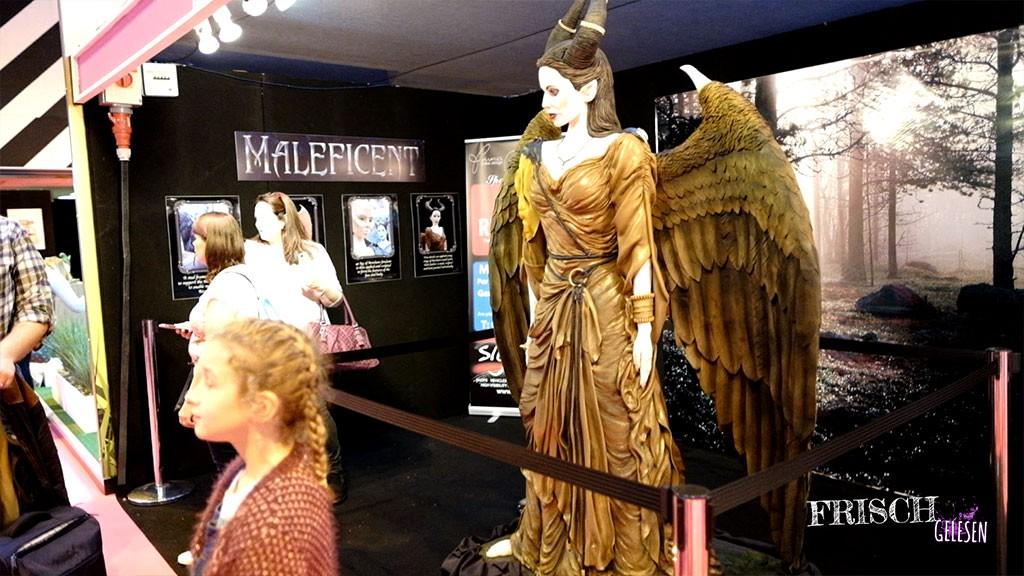 Auch Maleficent ist auf der Cake International vertreten, aber natürlich als Kuchen. Ist ja klar!