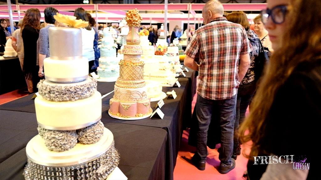 Torten ohne Ende auf der Cake International in Birmingham