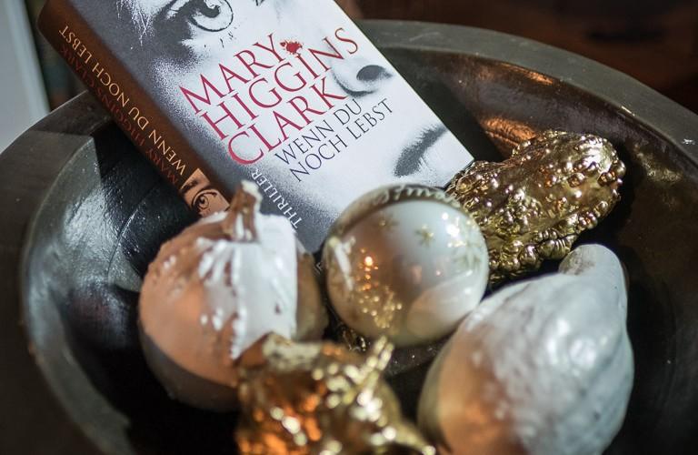 """Das Cover finde ich absolut cool: """"Wenn du noch lebst"""" von Mary Higgins Clark"""