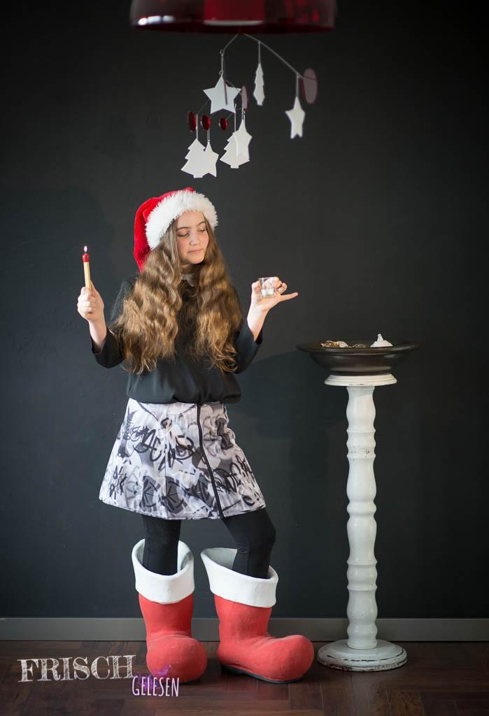 Weihnachtliche Stehschuhe...