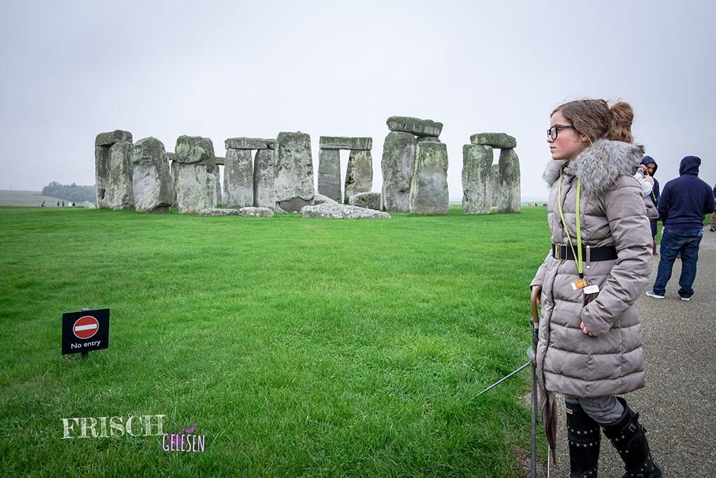 Die Mythologie der Steine und die vielen unbeantworteten Fragen haben mich auch in Stonehenge sehr beschäftigt. Maureen Johnson fand dies wohl auch interessant.