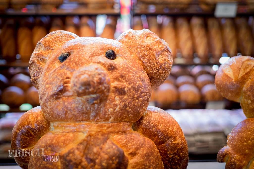 Für mich gab es einen Brotbären. War sehr lecker.