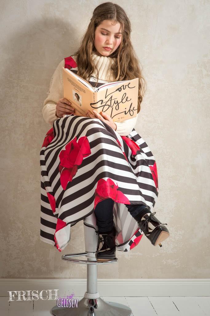 """Wenn das nicht stilvoll ist, werde ich wohl nie so wie Garance Doré. Naja, ich lese noch ein bisschen in """"Love x Style x Love"""", dann wird`s schon."""