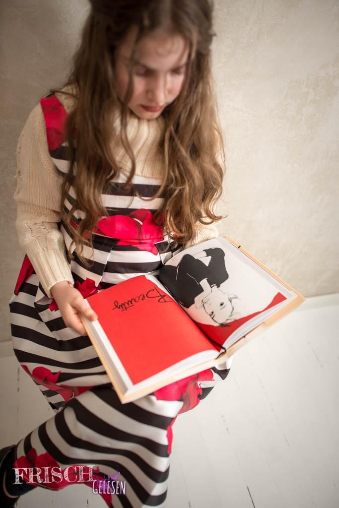 Mein Kleid passte sogar zu den Illustrationen von Garance Doré. Das nenne ich Stil!
