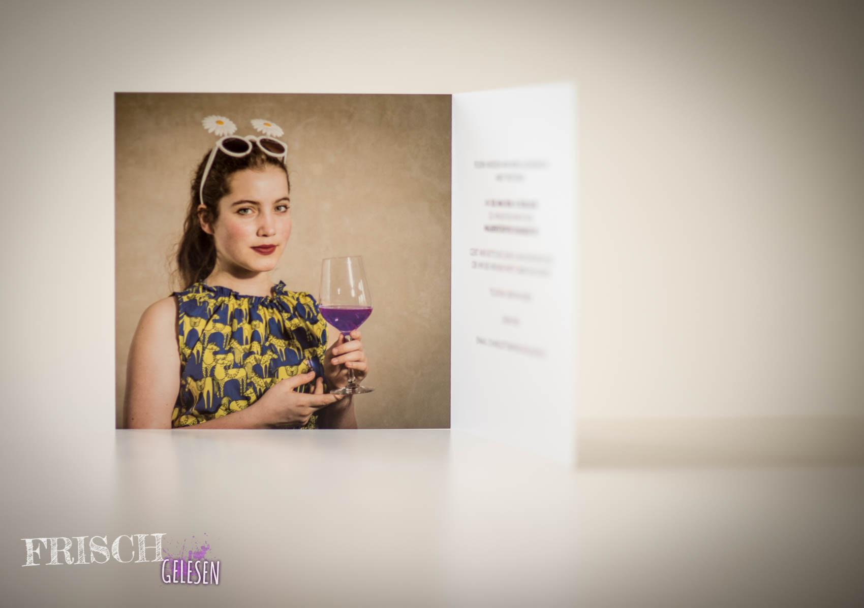 meine einladungskarten zur jugendweihe, Einladung