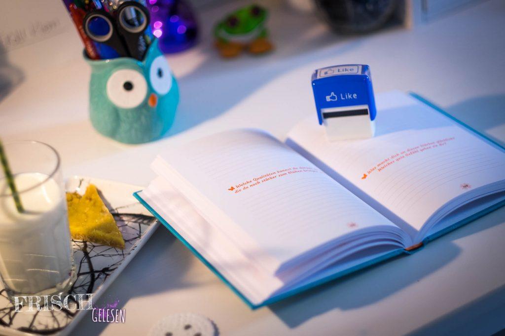 Franziska Muris Buch zum Selbstgestalten macht mich sofort glücklich!