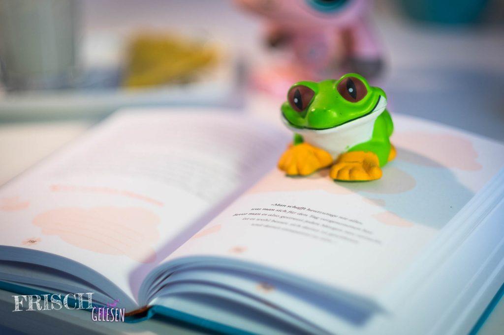 Sei kein Frosch, sei glücklich!