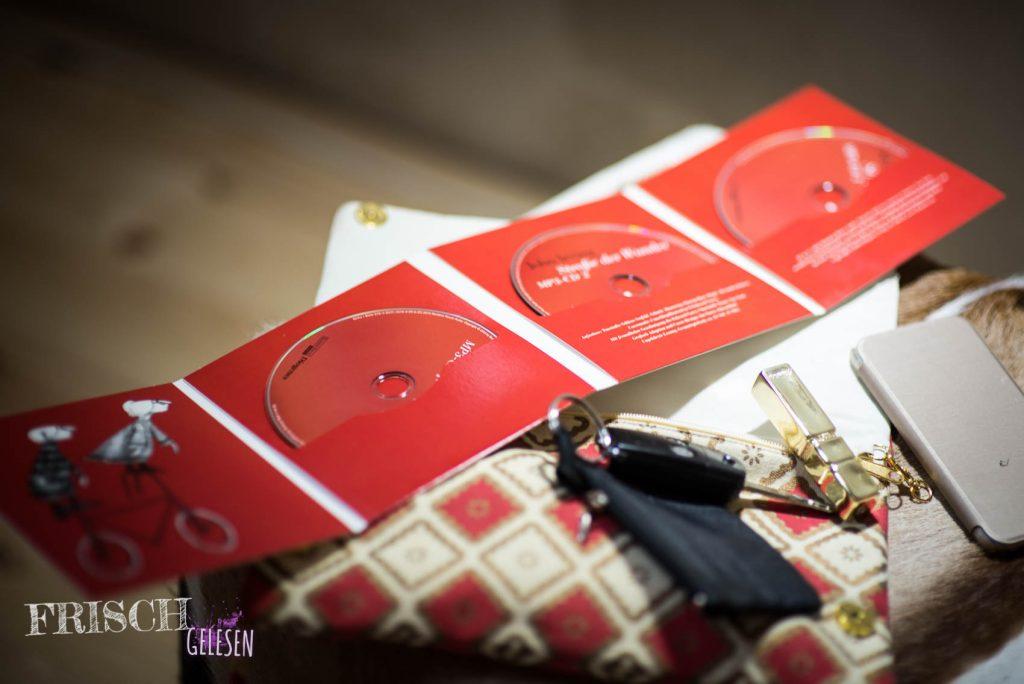 Drei CDs vollgepackt mit wundersamen Begegnungen, John Irving satt, sozusagen.
