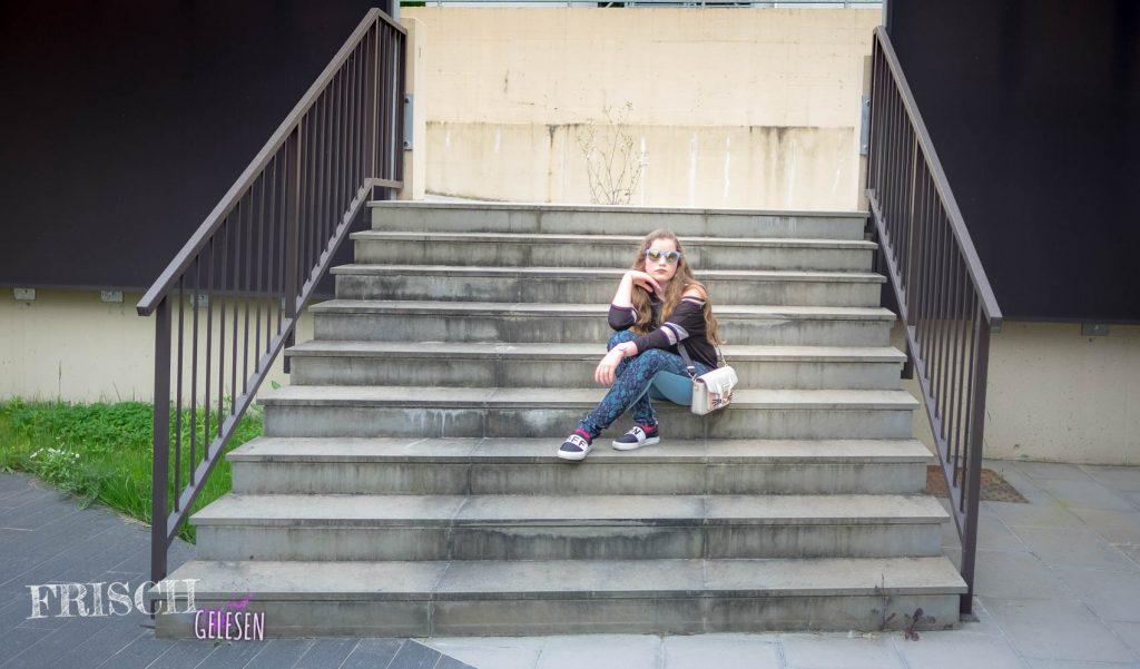 Klar, kann man eine Treppe runterfallen, aber: Hey, man kann auch darauf sitzen. Versteht ihr, was ich meine?