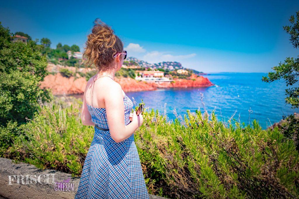 Wunderbare Aussichten an der Côte d'Azur.