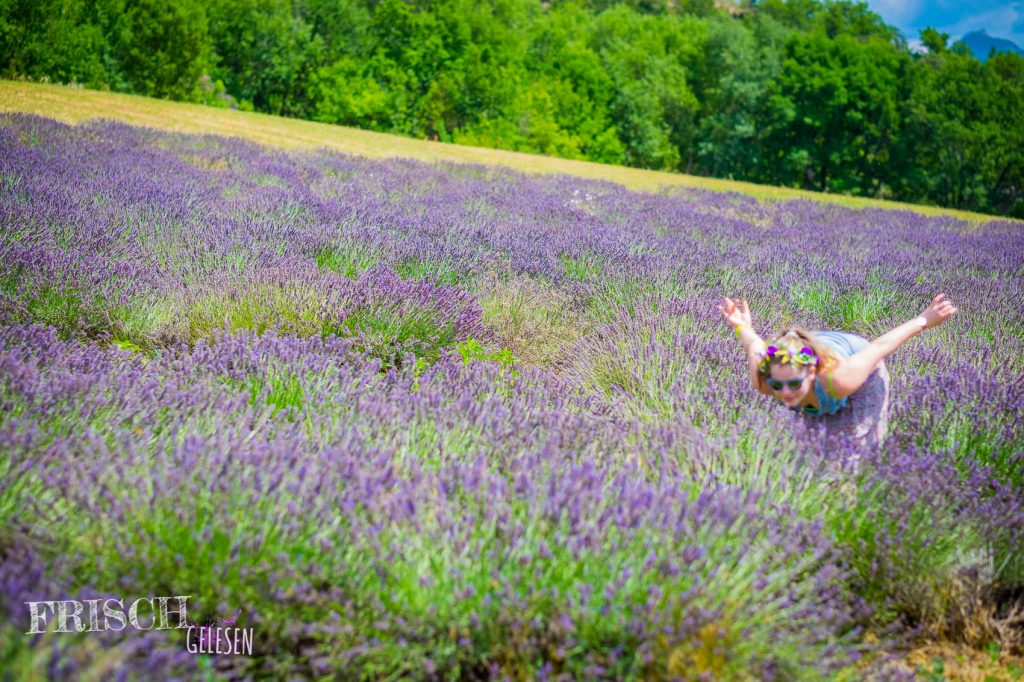 Für mich kann es gar nicht genug nach Lavendel duften...
