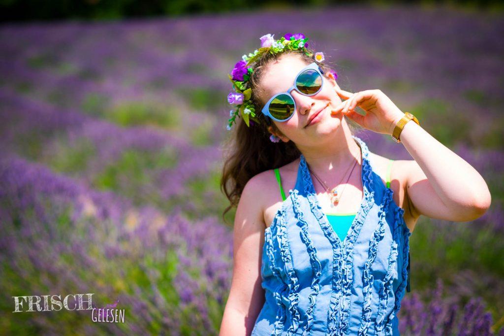 ...oder eher Lavendelmädchen