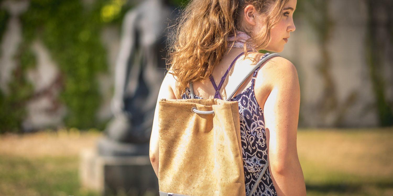 """Ich liebe meine neue Tasche von Henties! :) Und wehe, einer hat was gegen meine """"Lerke""""! ;)"""