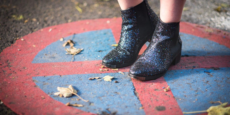 Erkennt ihr sie? Richtig, meine Jugendweihe Schuhe.