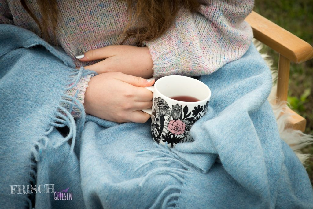 Blanket and a cup of tea - More often you will meet me like this now.