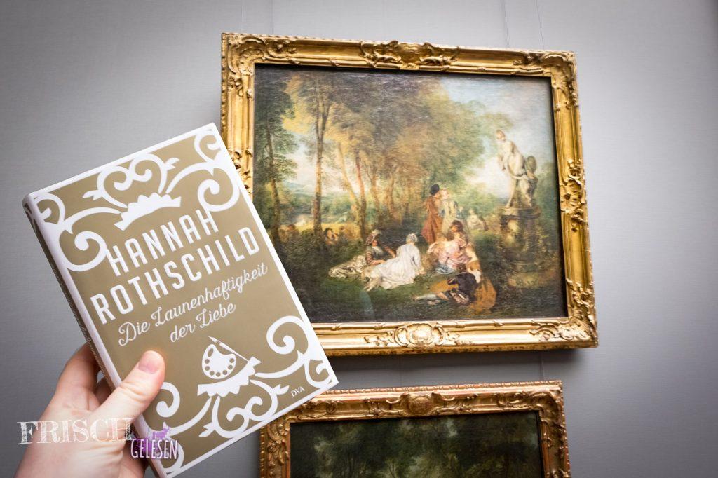 Oder Watteau im Buch trifft auf Watteau an der Wand. ;)