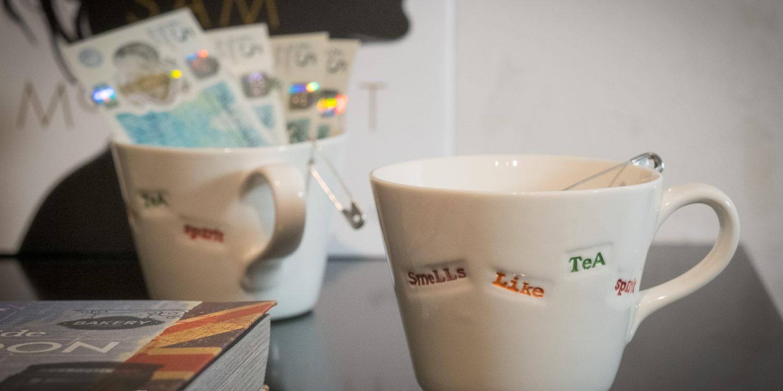 Ein bisschen Tee werden wir sicher wieder mitbringen. Das gehört einfach dazu.