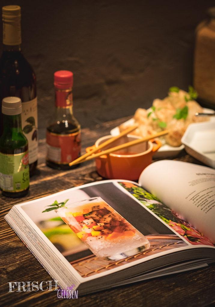 Das Steet Food passt zum heutigem Leben in den Städten Vietnams.