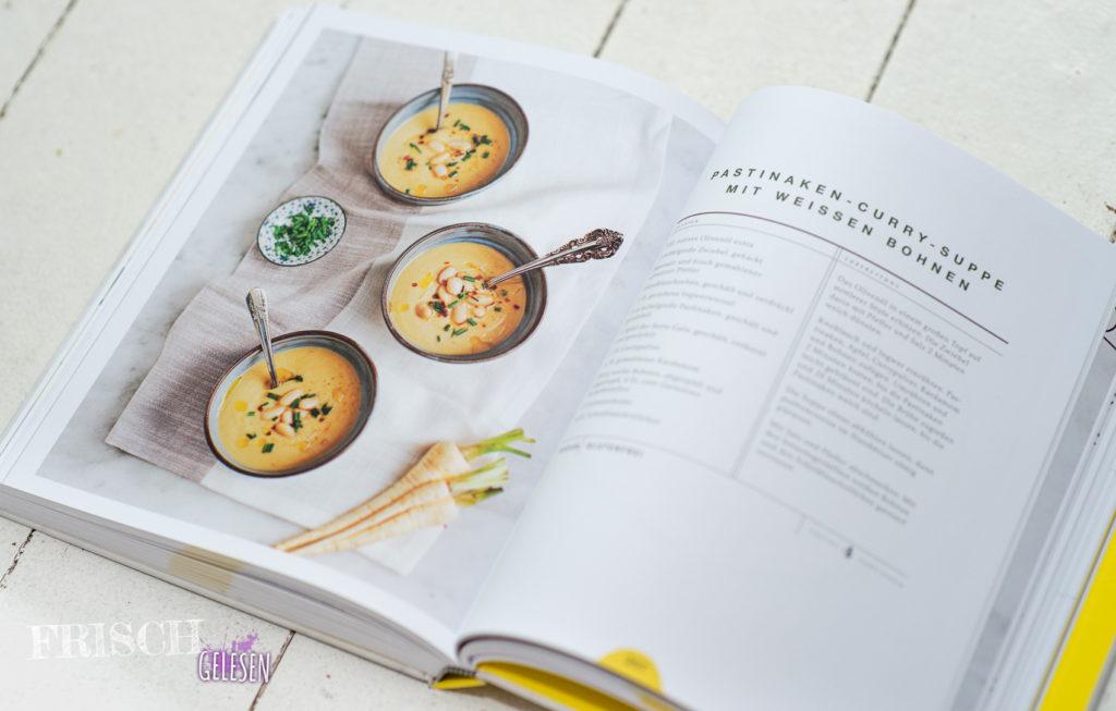 """""""Pastinaken-Curry-Suppe"""" sieht nicht nur lecker aus, sondern sie ist es auch."""
