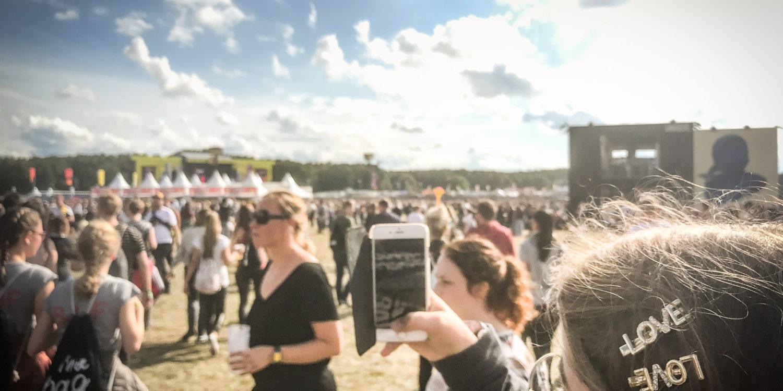 Auch wenn manche Fotos im Netz noch so toll sind, das Erlebnis vor Ort beim Lollapalooza in Berlin ist nicht zu toppen.