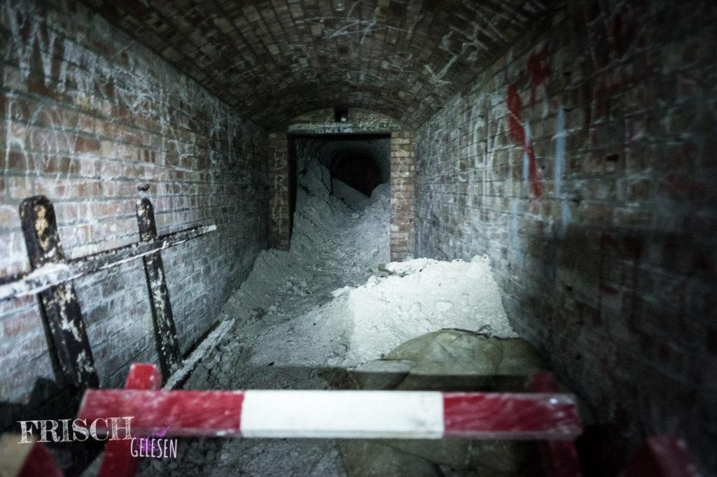 Darum gibt es auch nur geführte Besichtigungen in den Ramsgate Tunnels.
