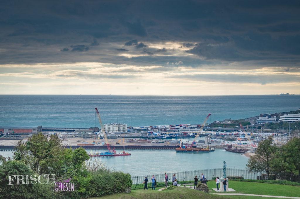 Blick vom Dover Castle