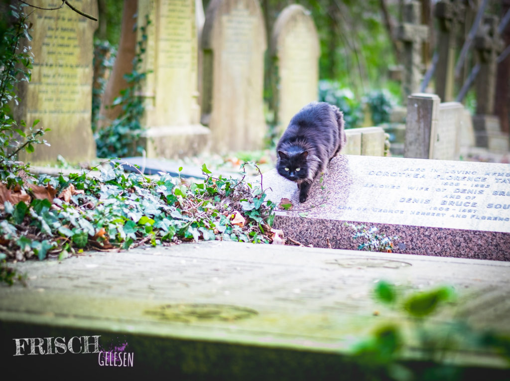 Sie kennt ganz sicher alle Geister, die sich angeblich nachts aug dem Highgate Cemetery tummeln ;)