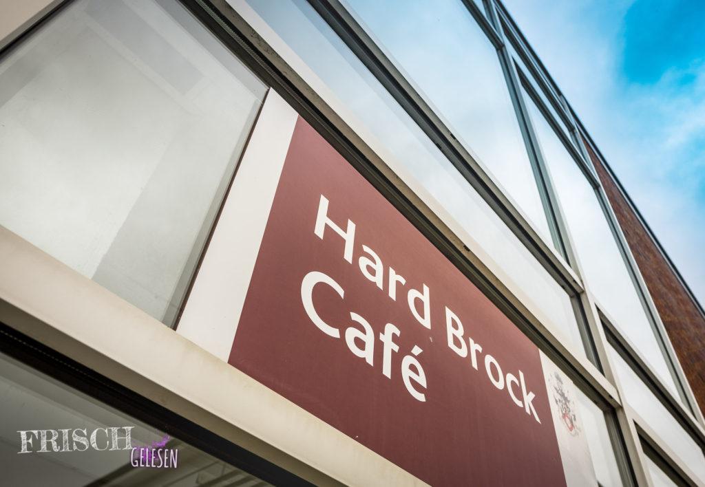 Das Hard Brock Cafe auf dem Campus. Dort werde ich dann wohl meine Pausen verbringen.